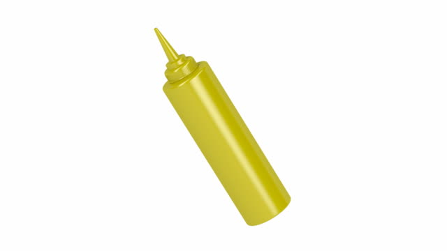 Mustard, ketchup and mayonnaise bottles
