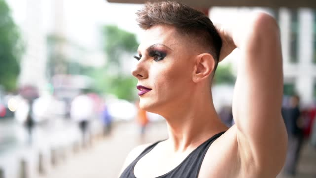 My Life is My Choice Drag Queen lgbtqi rights stock videos & royalty-free footage