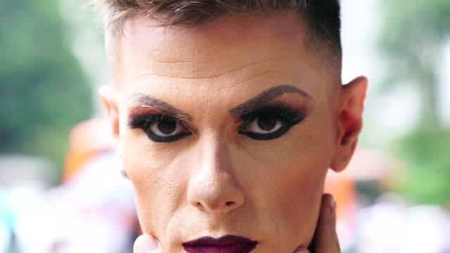 stockvideo's en b-roll-footage met mijn leven is mijn keuze - drag queen