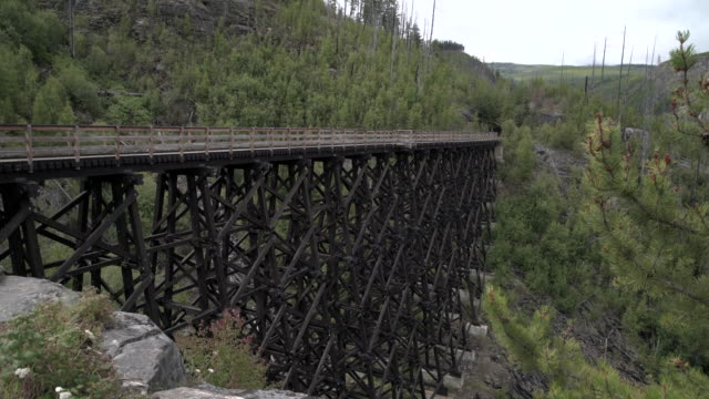 Myra Canyon Trestles National Heritage Site 4K UHD