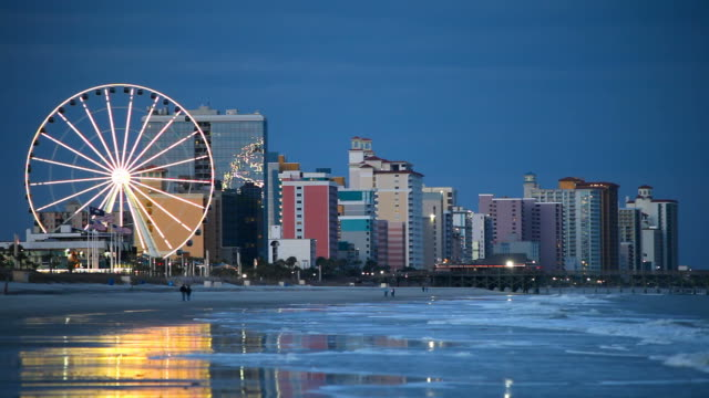 Myrtle Beach Myrtle Beach is a coastal city on the east coast of the United States and is considered to be a major tourist destination in the Southeast south carolina stock videos & royalty-free footage