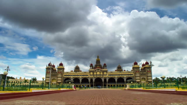 mysore palace time lapse video
