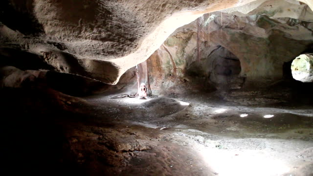 Mysterious cave video