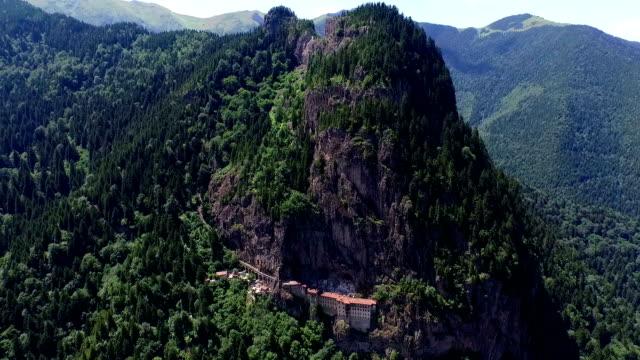 mystiska sumela monastery - fornhistorisk tid bildbanksvideor och videomaterial från bakom kulisserna