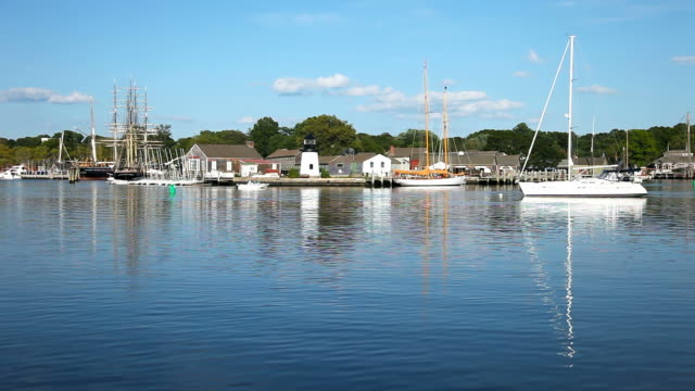 Mystic Seaport Mystic is a village and census-designated place in New London County, Connecticut, in the United States. connecticut stock videos & royalty-free footage