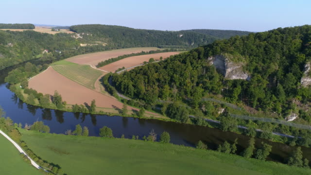 Naab River In Bavaria In Late Summer video