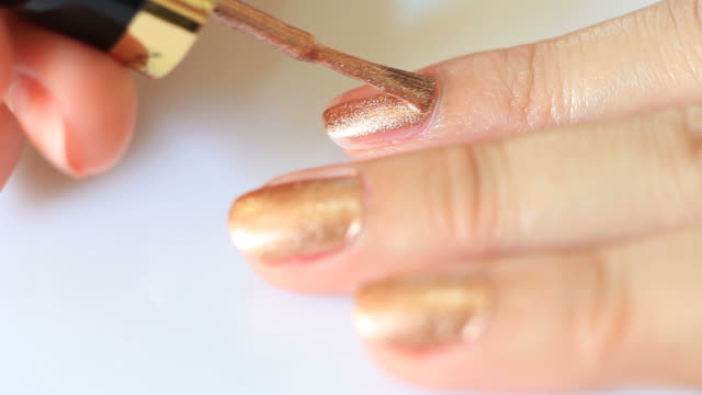 Nails painting video