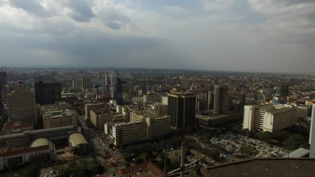 vídeos de stock e filmes b-roll de nairobi kenya - stadtzentrum - quénia