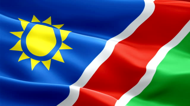 Namibia flag Motion Loop video waving in wind. Realistic Namibian Flag background. Namibia Flag Looping Closeup 1080p Full HD 1920X1080 footage. Namibia Africa country flags footage video for film,news Namibia flag Motion Loop video waving in wind. Realistic Namibian Flag background. Namibia Flag Looping Closeup 1080p Full HD 1920X1080 footage. Namibia Africa country flags footage video for film,news swakopmund stock videos & royalty-free footage
