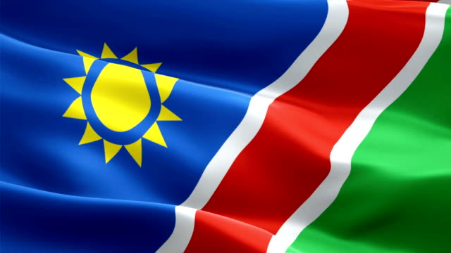 Namibia waving flag. National 3d Namibian flag waving. Sign of Namibia seamless loop animation. Namibian flag HD resolution Background. Namibia flag Closeup 1080p Full HD video for presentation Namibia waving flag. National 3d Namibian flag waving. Sign of Namibia seamless loop animation. Namibian flag HD resolution Background. Namibia flag Closeup 1080p Full HD video for presentation swakopmund stock videos & royalty-free footage