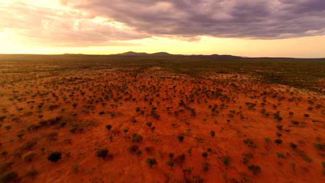 HELI Namibian Landscape video
