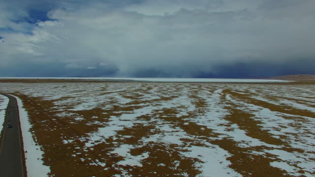 Namtso lake,Tibet landscape, Tibet, China.