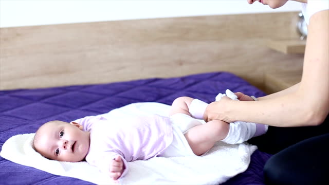 Nappy Diaper Changing video
