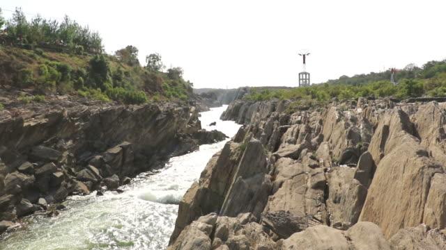 narmada river in jabalpur - madhya pradesh filmów i materiałów b-roll