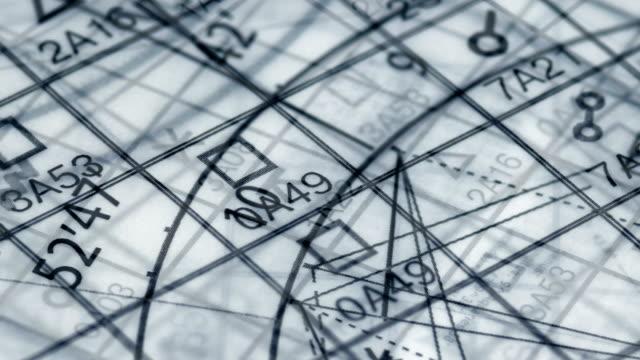 vídeos de stock e filmes b-roll de natal chart astrology wheel - astrologia