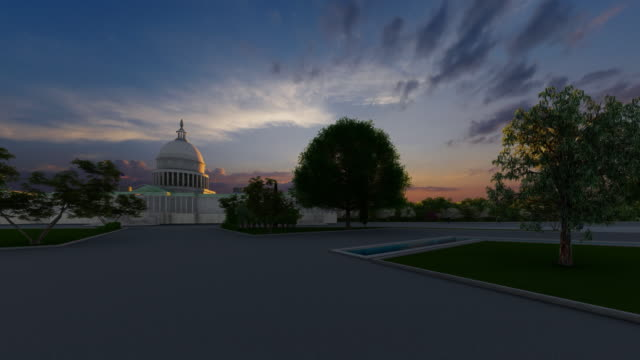 National Capitol Building in Washington DC, District of Columbia