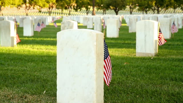 us national cemetery - sehenswürdigkeit stock-videos und b-roll-filmmaterial
