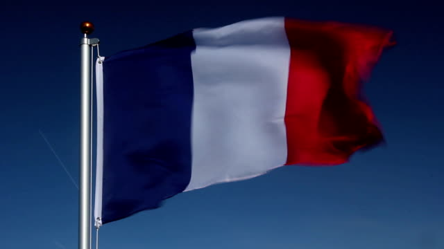 National flag of France video