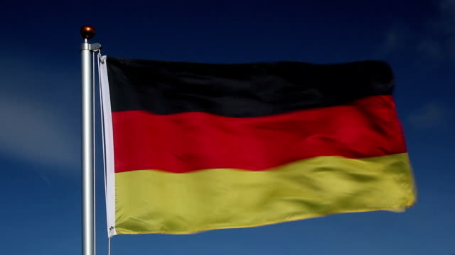National flag of Germany video