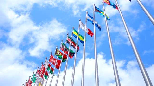 National flags video