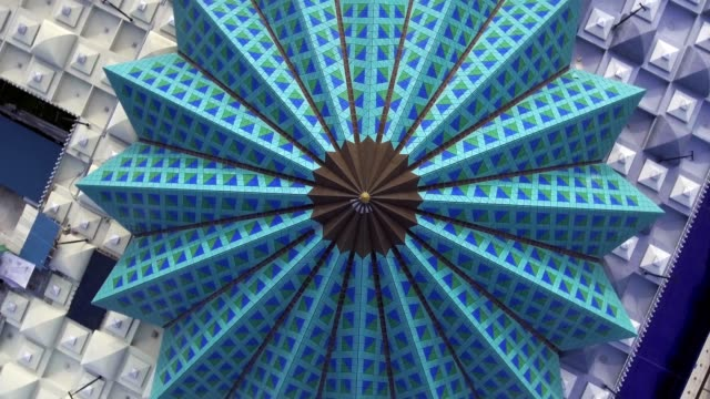 national mosque of malaysia. - мандала стоковые видео и кадры b-roll