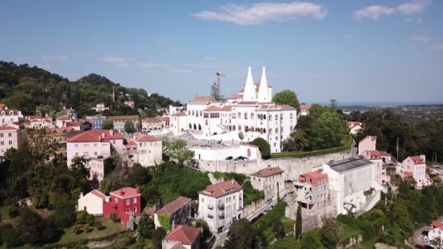 National Palace of Sintra. Panoramic view