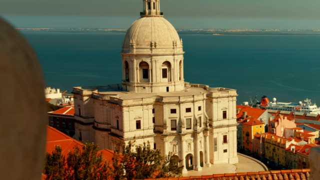 vídeos de stock e filmes b-roll de national pantheon, lisbon, portugal - lisbon
