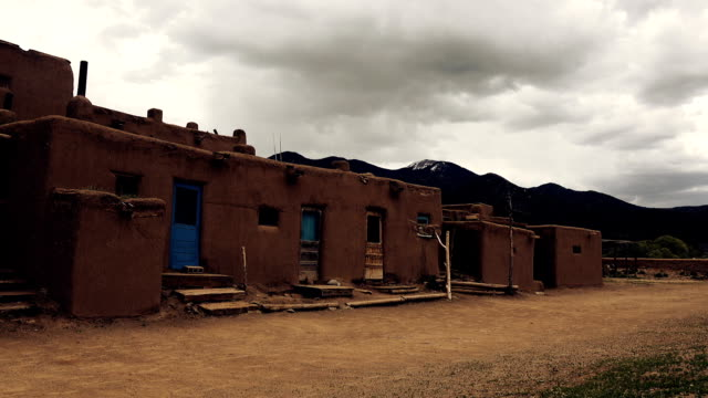 Native American Pueblo Building video