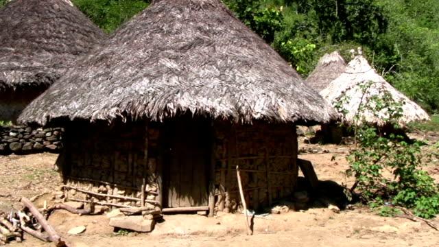 HD: Native American settlement video