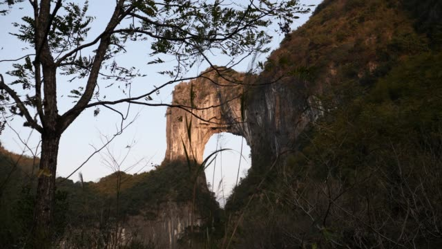 Natural arch in Guilin