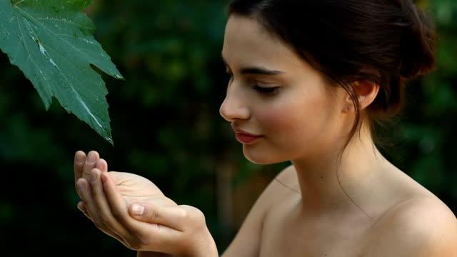 vídeos y material grabado en eventos de stock de belleza natural  - tratamiento de spa