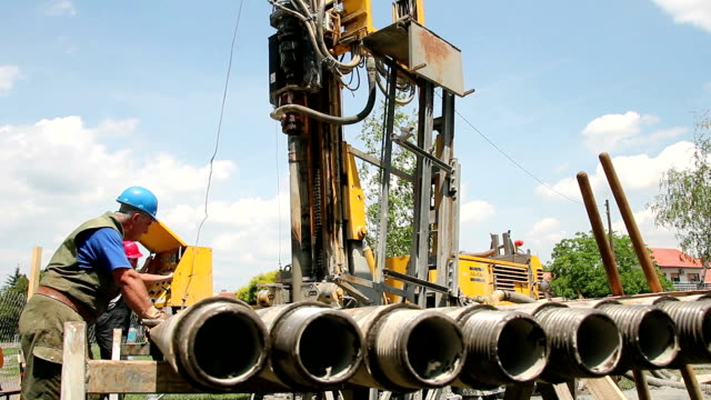 Natural Gas Drilling Well video