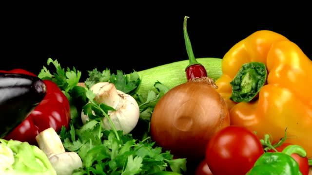 自然の野菜のローフード ビデオ