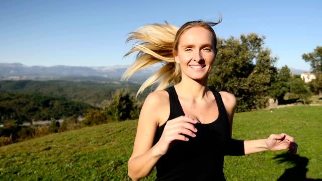Natural running joy video
