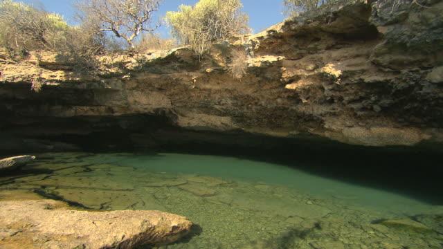 natural spring cave. - madagaskar bildbanksvideor och videomaterial från bakom kulisserna