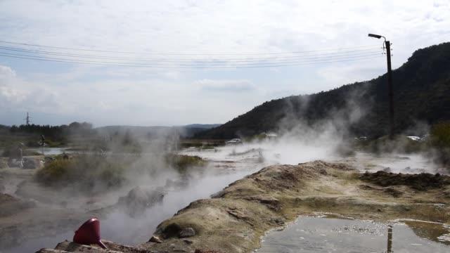 Natural volcanic hot springs. Bulgaria