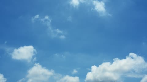 Nature Background - Blue Sky With Clouds Nature Background - Blue Sky With Clouds clear sky stock videos & royalty-free footage