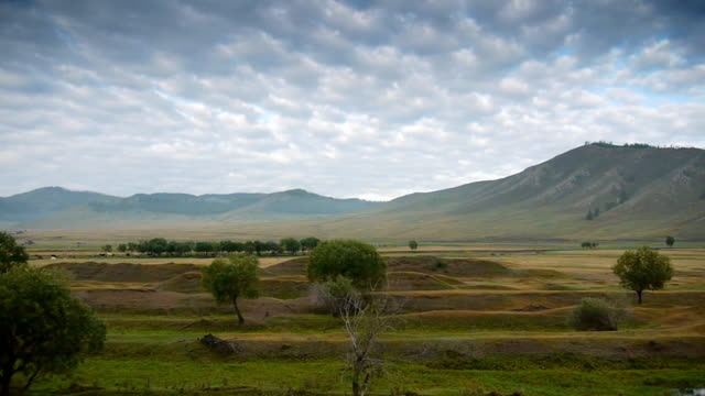 Nature of Mongolia video