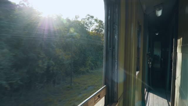 4 K: 移動列車からの風景 ビデオ
