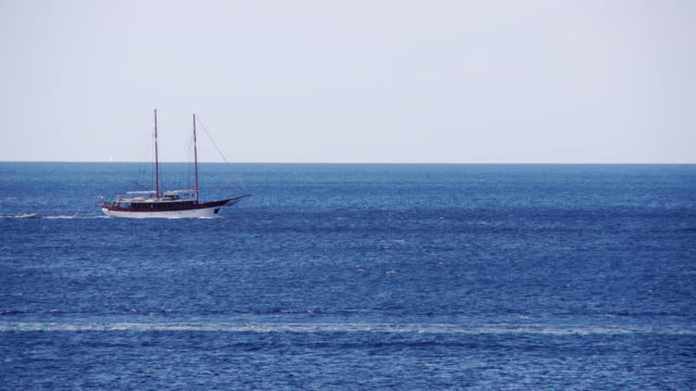 LS Nautical Vessel Cruising The Sea video