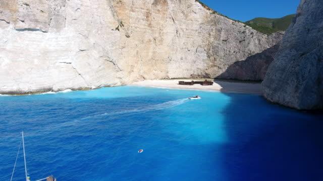 Navagio Beach, Zakynthos island, Greece video