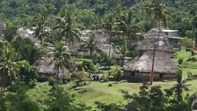 Navala village in the Ba Highlands of northern-central Viti Levu, Fiji. video