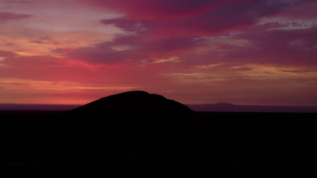 Nazca Desert at Sunset, Peru video