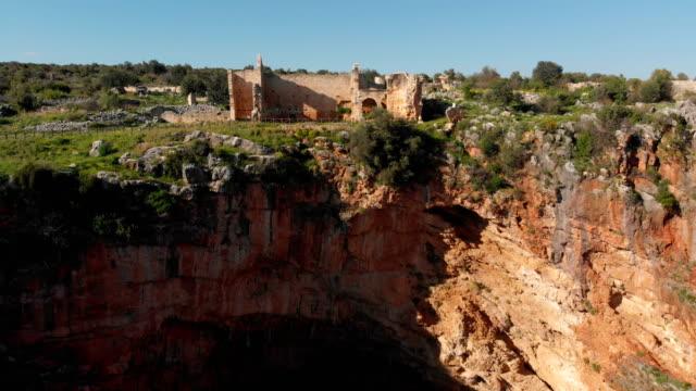 Neapolis (Kanlıdivane) antique city in Mersin