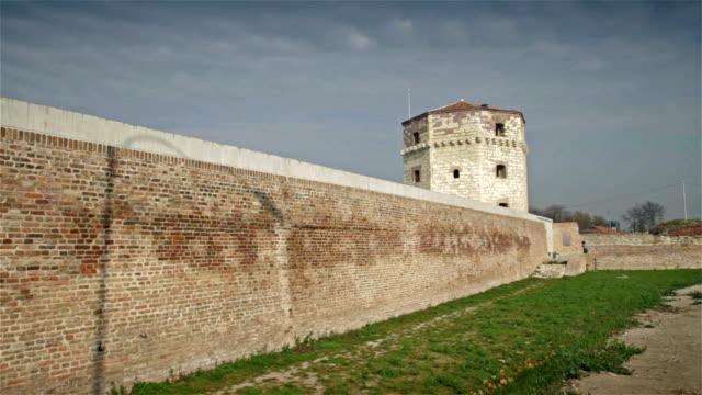 vidéos et rushes de nebojsa s tower à belgrade -serbia - forteresse