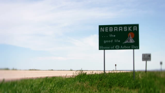 Nebraska State Sign video