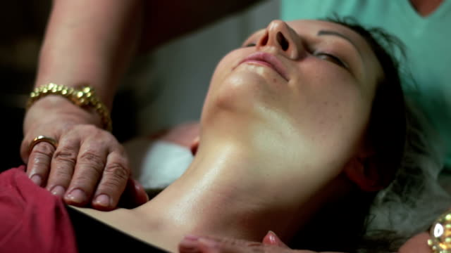 Neck massage video