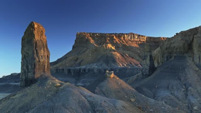 Needles and Hoodoos in Miller Canyon, Utah - Drone Shot video