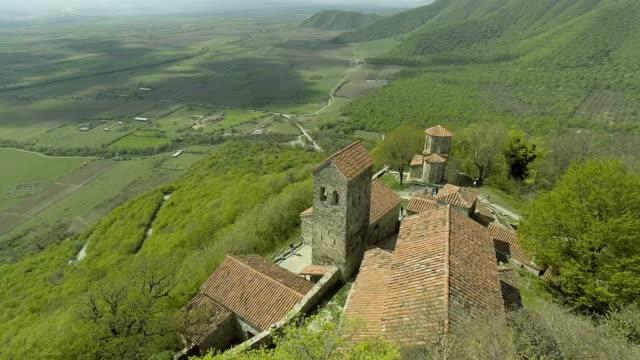 Nekresi Monastery On Top Of Mountain video