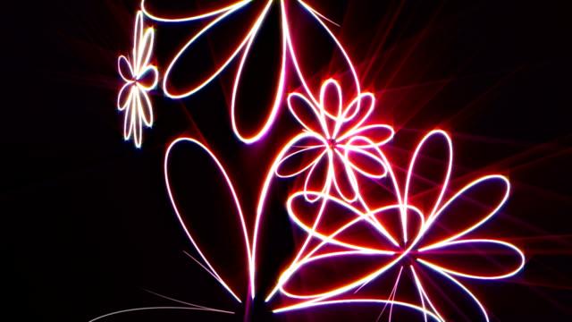 neon Blumen – Video